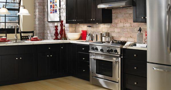 Kitchen cabinets knob hill espresso kitchen design for Italian kitchen to go