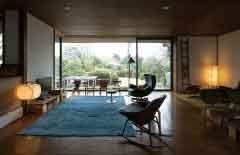 House At Chigasaki Shonan 1967 湘南茅ヶ崎の家 吉村順三 部屋 インテリア リビング テラス 家