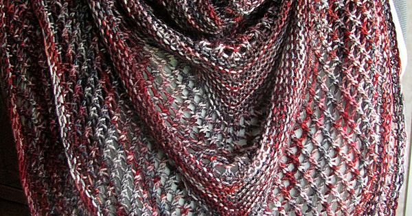 Reyna Shawl By Noora Laivola Free Knitted Pattern