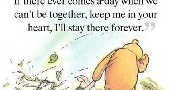 Winnie the pooh makes my heart melt, aww pooh bear!