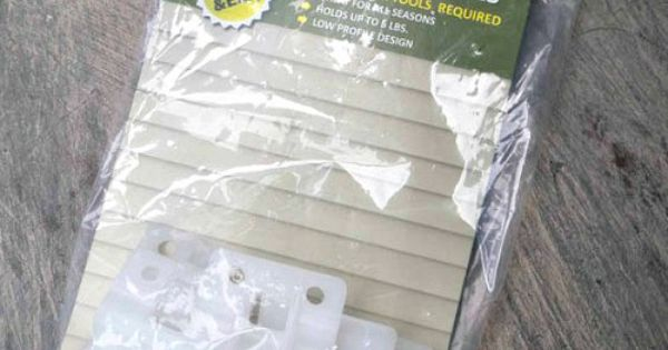 Vinyl Siding Hooks Outdoor Decorating Pinterest