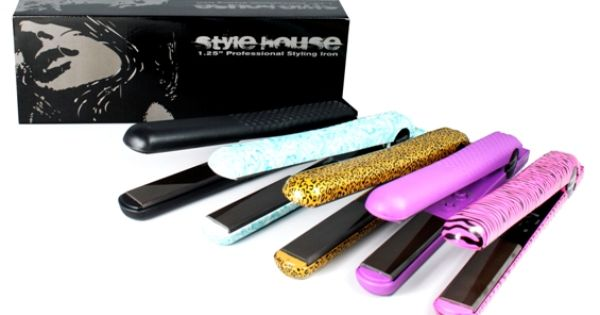 Style house flat irons my niece has one i tried it it for Style house professional styling iron price