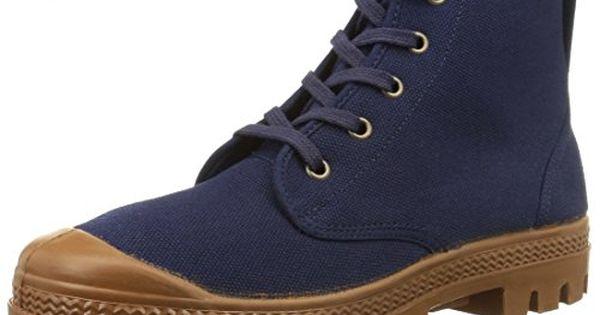 Aigle Arizona, Chaussures de Randonnée Hautes homme, Bleu