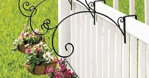 New Set Of 3 Or Single Porch Railing Balcony Metal Plant