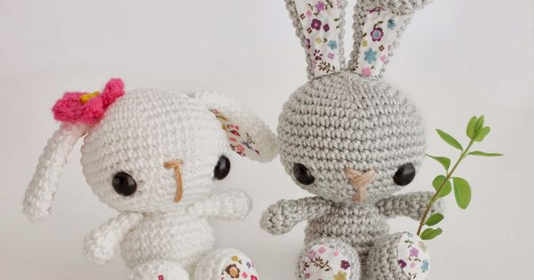 Amigurumi Patterns Contest : Amigurumi Bunny - FREE Crochet Pattern / Tutorial FREE ...