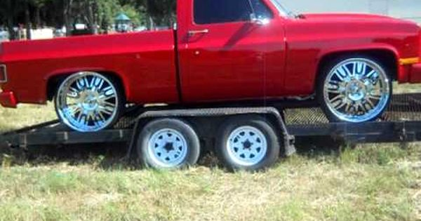 Chevy Short Bed Truck On 26 Quot Forgiatos Youtube Trucks