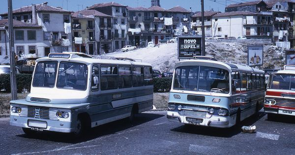Jhm 1972 1851 Porto Autobus Comboios De Portugal Lisboa