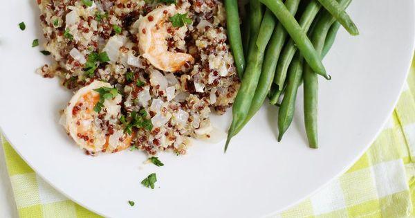 Quinoa Shrimp Scampi | Main Courses | Pinterest | Quinoa and Shrimp