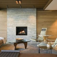 Contemporary Fireplace Refacing Google Search Modern Stone