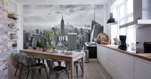 Papier peint new york pour un int rieur moderne et for Interieur new york