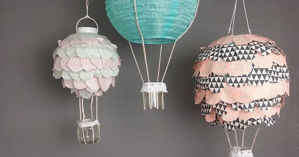 diy anleitung hei luftballon lampe f r das kinderzimmer. Black Bedroom Furniture Sets. Home Design Ideas