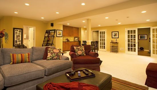 basement decorating ideas - Google Search
