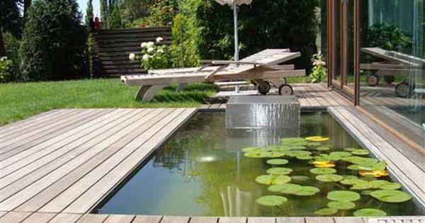 wasserbecken2_500 500×375 pixel   bassin   pinterest   gärten, Garten ideen gestaltung