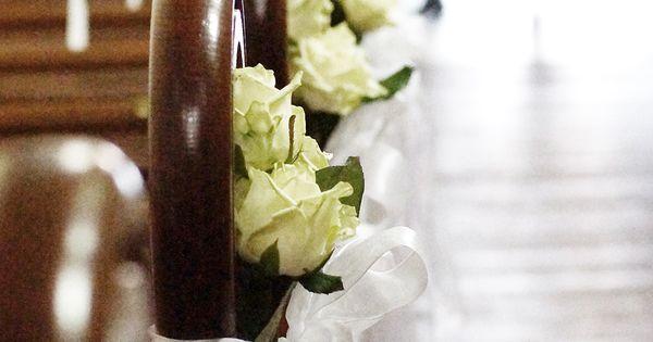 Walter van gastel trouwen versiering met bloemen in de kerk trouwdecoratie pinterest - Versier een entree ...