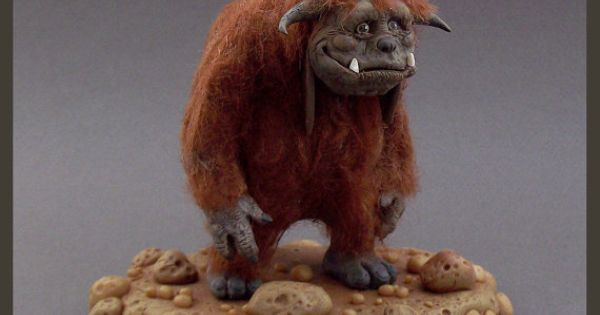LUDO The Labyrinth FanArt Clay Sculpture by Buzhandmade on ...