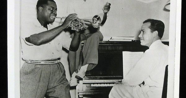 Louis Armstrong, Maxine Sullivan, Johnny Mercer
