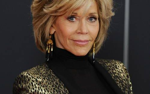 Jane Fonda glows at Grace and Frankie premiere ...