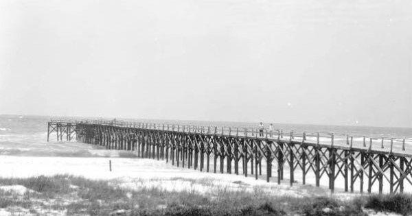 Crystal beach pier 1953 destin flirida florida 39 s good for Destin florida fishing pier