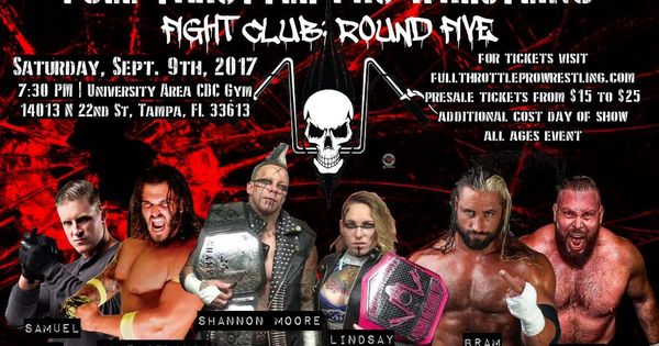 @TampaBayLover : RT @Thomas_Latimer_: This Saturday the 9th I make my debut for @FTPW2016 in my hometown of #Tampabay #kingofallevil #tampa https://t.co/um3crwsBCy