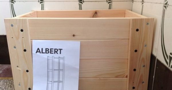 need a crate but can 39 t find one hack on from the albert. Black Bedroom Furniture Sets. Home Design Ideas