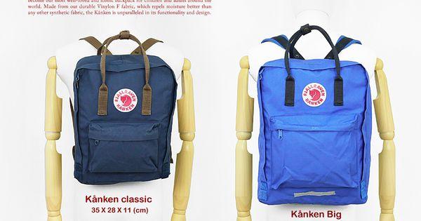 kanken daypack vs classic