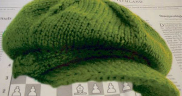 Free Intermediate Knit Pattern - Newsboy Hat Suite101 Crafts Pinterest ...