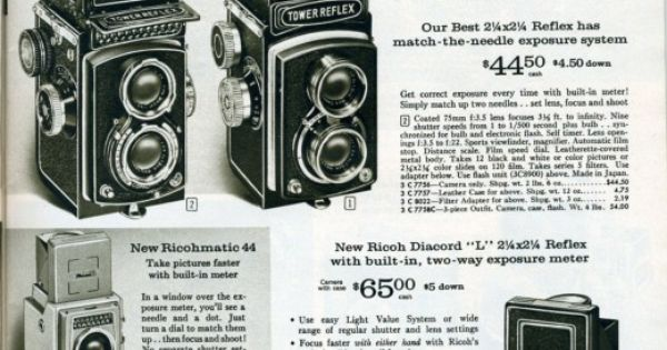 I love vintage camera ads! I'm starting a collection.