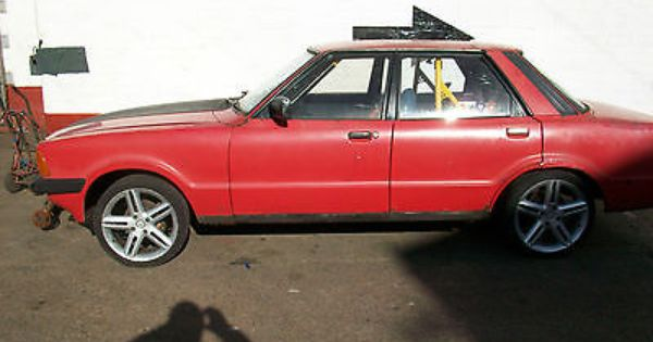 Ford Cortina Mk5 Roll Cage Bucket Seats Trackday Project Banger