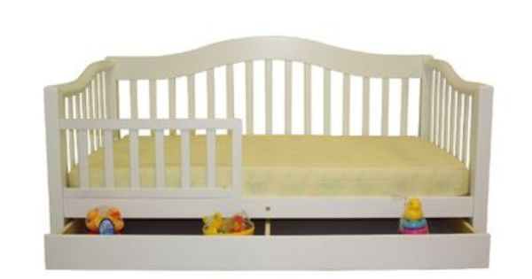 175 Toddler Childrens Dream On Me White Toddler Day Bed
