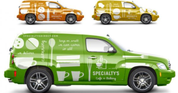 Specialtys Cafe Bakery Branding Vehicle Signage Branding Car Wrap