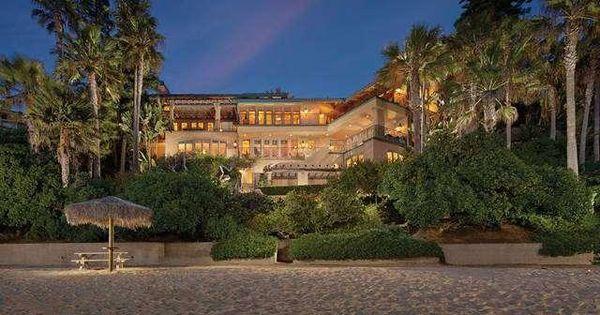 Laguna Beach Mansion Mansions Pinterest Beach