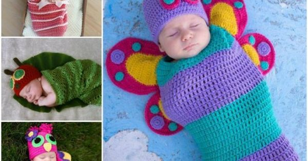Crochet Baby Cocoons - find free patterns in our post ...