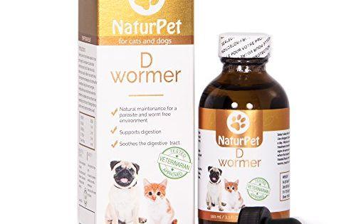 Naturpet D Wormer 100 Natural Safe Effective Dewormer For