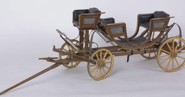 English Carriage Model Horse Drawn Wagons Pinterest