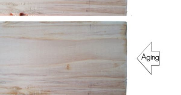Aging New Wood Instantly Using Tea Steel Wool And Vinegar