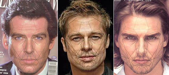 Facial symmetry mask