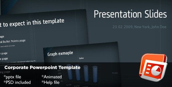 Corporate Powerpoint Template Powerpoint Templates
