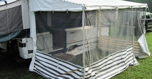 How to install a add a room on a pop up pop up camper for How to wire a new room addition