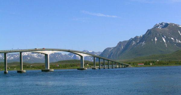 Sortland Bridge Sortland Norway Sortland Norway Beautiful Norway
