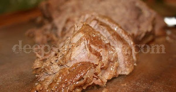 Oven Roasted Beef Rump Roast with Mushroom Gravy | Gravy ...