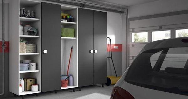 Armario box propuesta de soluci n a medida armario de for Muebles para garaje