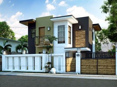 modern house design mhd-2014014 is a 3 bedroom two story modern