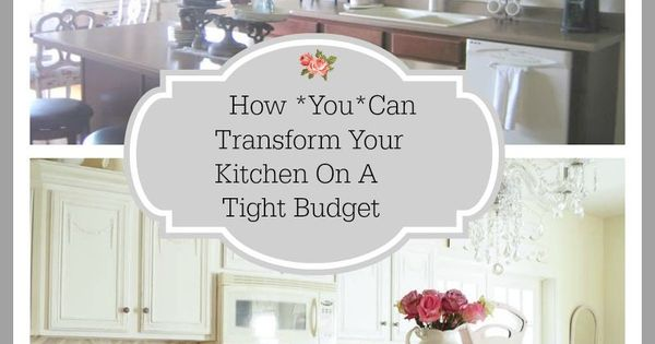 Sharing 5 budget friendly ways to transform your kitchen for New kitchen on a tight budget