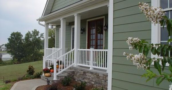 Dark Sage Exterior House Paint | RE: What Are Your Favorite Exterior Colors?  | 2014 Exterior Paint Colors | Pinterest