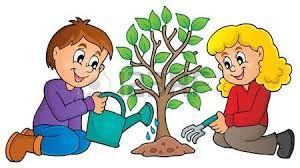 Resultado De Imagen Para Niños Sembrando Plantas Para