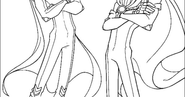 Winx Club Color Page Cartoon Characters Coloring Pages