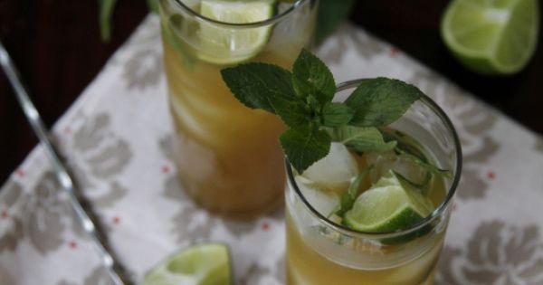 Pineapple Arugula Mint Mojitos | Recipe | Mint
