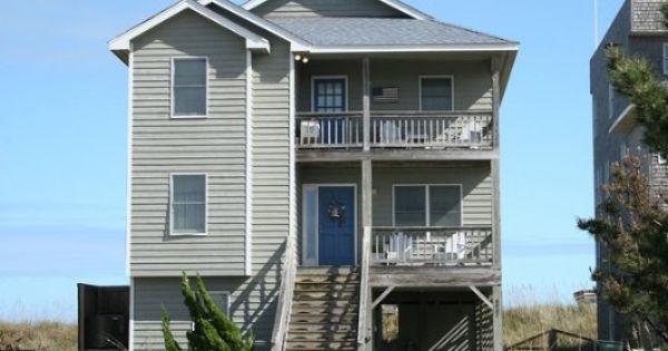 6 Bedroom Oceanfront Rental House In Nags Head Part Of