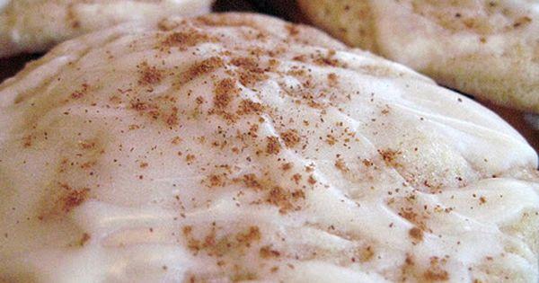 Christmas Eggnog Cookies .. I LOVE EGG NOG!!!