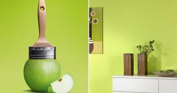 Fresh Apple Green Color Schoner Wohnen Trendfarbe Schoner Wohnen Farbe Schoner Wohnen